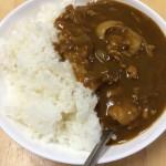 激安簡単男飯!カレーの作り方。1食あたり約190円、作業時間4分。